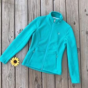 SPYDER Fleece Lined Zip Up Jacket NEW